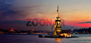 Maiden Tower in Istanbul