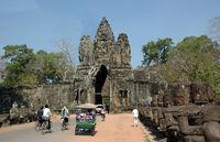 Eingang zum Bayon Tempel in Angkor