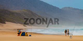 Strand im iSimangaliso-Wetland-Park Südafrika