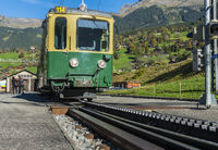 Train and Rack-Railway in Grindelwald