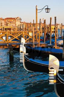 Riva degli Schiavoni street at Venice, Italy