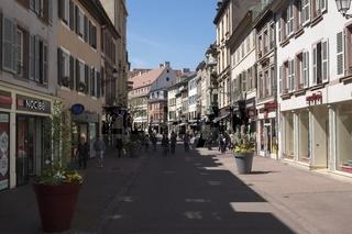 Colmar, Fußgängerzone Rue des Clefs