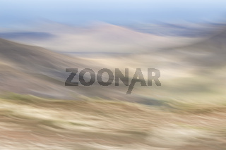 abstrakte Berglandschaft