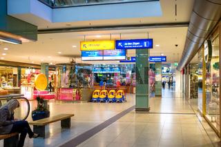 Promenaden im Leipziger Hauptbahnhof