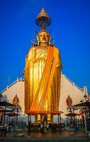 Huge Golden Buddha statue