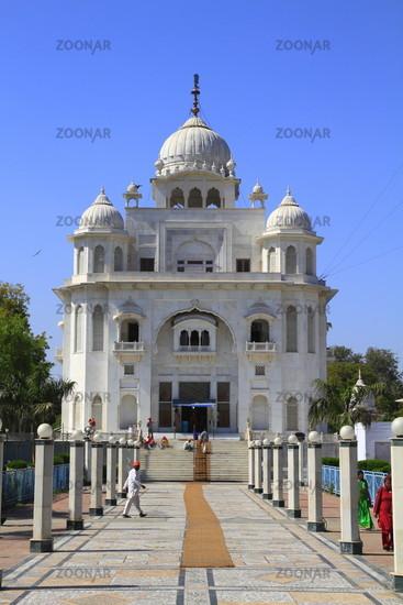 Der Gurdwara Rakab Ganj Sahib
