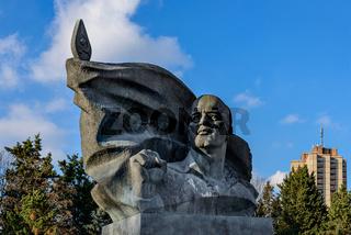 Denkmal für den Kommunistenführer Ernst Thälmann in Berlin