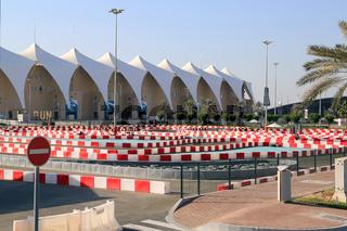 Abu Dhabi, Go-Kart-Bahn in der Yas Kartzone