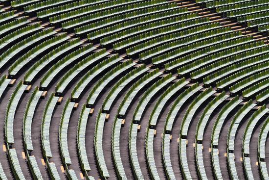 Sitze im Fußballstadion 1