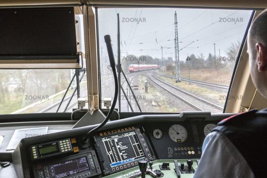 Energieeffiziente Fahrweise bei der Deutschen Bahn