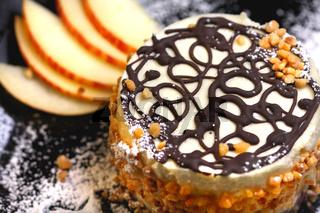 Winterliche Träumchen von Apfel und Schokolade