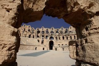 El Djem, Roman Amphitheatre in Tunisia