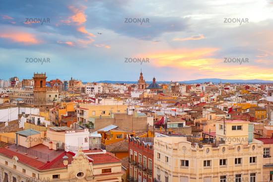 Overlooking of Valencia, Spain