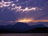 Sunrise on Dalmatian Coast