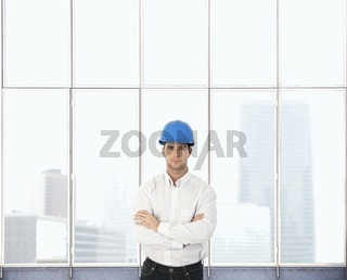 Portrait of architect designer
