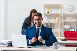 Person being fired from his work