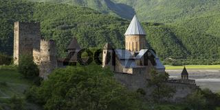 Ananuri Fortress With Church Near Tbilisi, Georgia