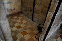 Zelle im Tuol-Sleng-Gefängnis