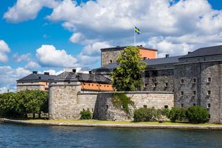Festung Vaxholm an der schwedischen Schärenküste