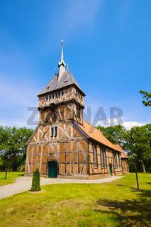 Fachwerkkirche Tripkau, Amt Neuhaus, Niedersachsen, Deutschland
