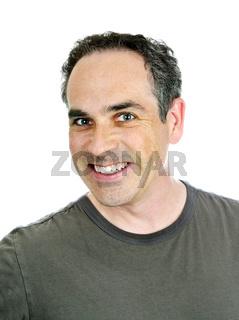 Scruffy man