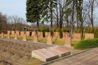 Kriegsdenkmal auf den Seelower Hoehen.military cemetery