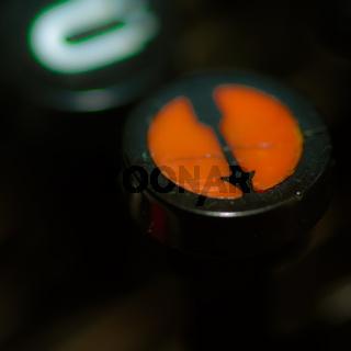 Umschalttaste einer Schreibmaschine