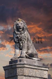 der bayrische Löwe