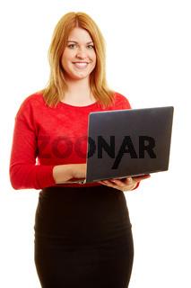 Frau als Programmierer oder Webdesigner