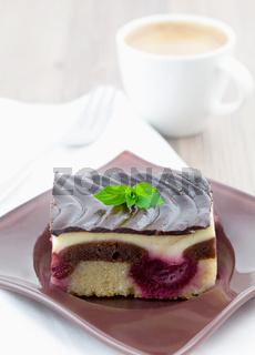 Donauwelle / fresh piece of cake