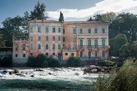 Old italian landhouse in bassano del grappa