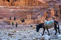 Theatre at Petra, Jordan