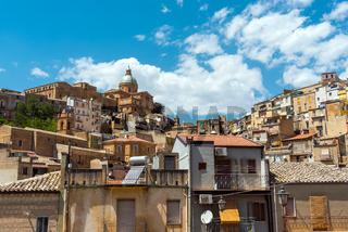 Die Altstadt von Piazza Armerina in Sizilien
