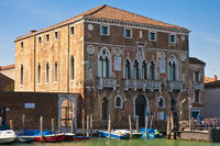 Mula Palace at Murano Island, Italy