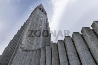 Tower Hallgrimskirkja Church Reykjavik