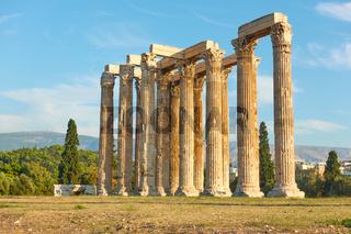 Ruins of Zeus Temple
