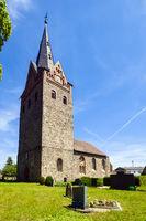 Dorfkirche Schoenfeld, Werneuchen, Brandenburg, Deutschland