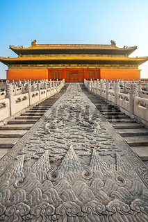 in the Forbidden City in Beijing North China