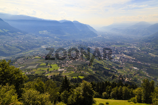 Meran und das Etschtal, Italien, Meran and the valley of Adige, Italy