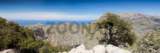 Panorama of the Serra de Tramuntana