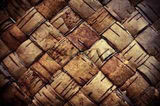 Texture background plaited bast
