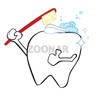 Cleaning tooth