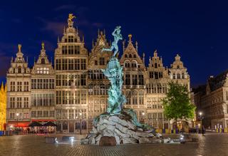 Grote Markt in Antwerp - Belgium
