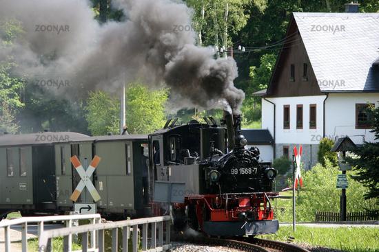 Dampfzug in Schmalzgrube