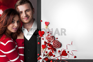 Couple at Valentine's day