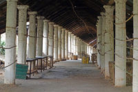 Corridor in Indein or Intein, Myanmar