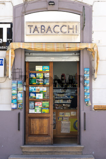 Tabacci in Olbia, Sardinien
