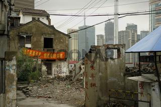 Shanghai - Stadtsanierung, urban redevelopment