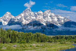Mountains in Grand Teton National Park