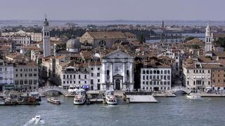View from the Campanile of San Giorgio Maggiore, Venice